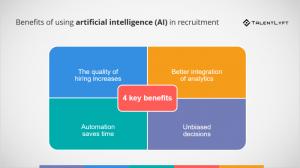 Benefits of using AI